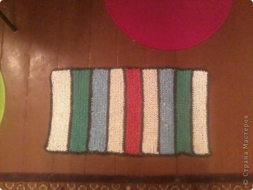 вот такие у меня получились коврички,постелим в баньку. фото 3