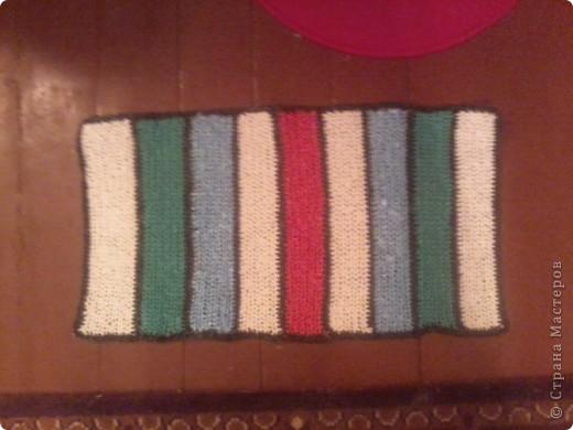 вот такие у меня получились коврички,постелим в баньку. фото 4