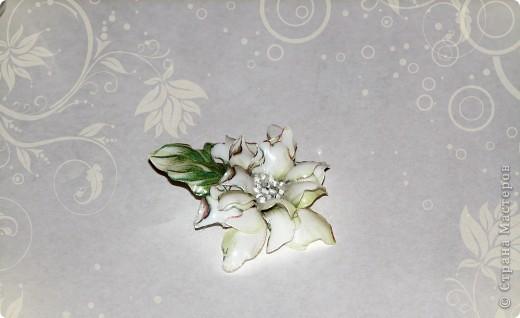 """браслет и серьги """"Цветение сакуры"""" фото 3"""