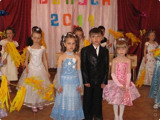 вот такое платье у нас было на выпускном в детском саду! фото 2