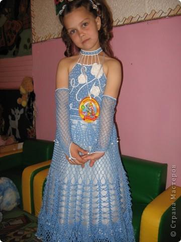вот такое платье у нас было на выпускном в детском саду! фото 1