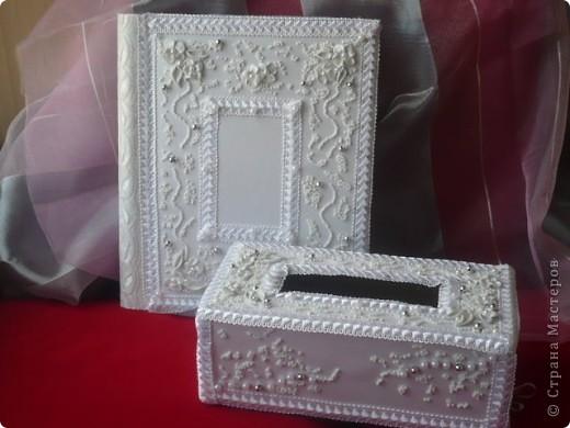 Мой наборчик. Коробочка для денег и Фотоальбом фото 1