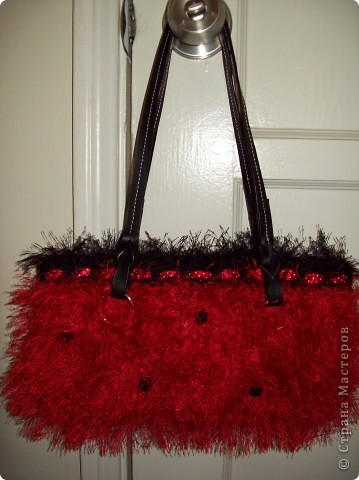 Красная сумочка фото 1