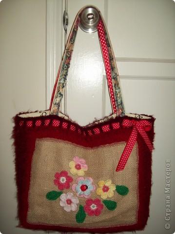 Красная сумочка фото 4