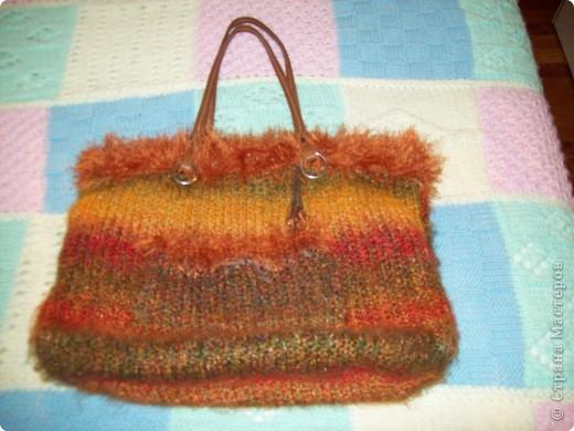 Красная сумочка фото 2