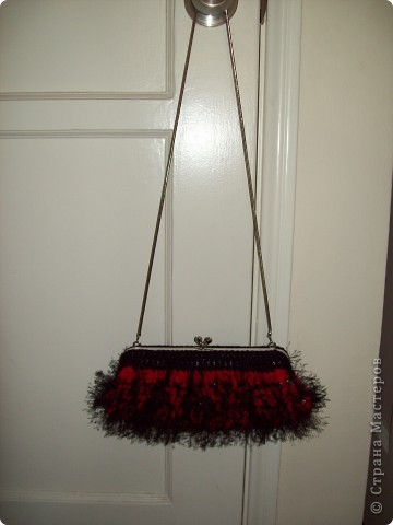 Красная сумочка фото 6