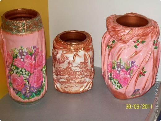 вазочки-баночки  фото 1