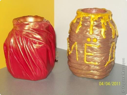 вазочки-баночки  фото 5