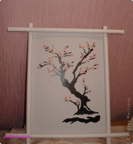 Бонсай на стене фото 1