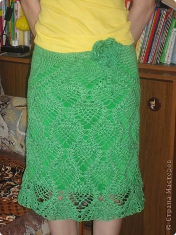 Ананасная юбочка на лето фото 2