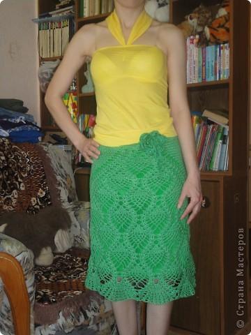 Ананасная юбочка на лето фото 1