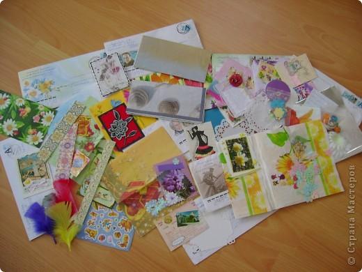 Как же приятно ждать писем!!! Спасибо всем мастерицам СМ за такую радость и идею обмена АТС. Вчера в почтовом ящике обнаружили целых 10 писем!!! Спасибо всем за прекрасные карточки и великолепные подарки. ( Извините,что каждому не подпишусь здесь, загружаю уже третий раз не хватает терпения, надеюсь, сейчас ничего не случится) ВСЕМ -ВСЕМ ВСЕМ- спасибо!!! Итак смотрите фото 11