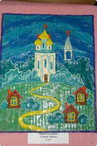 Хочу показать Вам работы из пластилина детей к Пасхе. Многие из них были на выставке детского  прикладного творчества в Моске и завоевали почетные места. Эта работа  заняла первое место!  фото 6