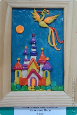 Хочу показать Вам работы из пластилина детей к Пасхе. Многие из них были на выставке детского  прикладного творчества в Моске и завоевали почетные места. Эта работа  заняла первое место!  фото 14