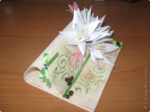 Увидела открытку у YuliaM, очень понравилась. Решила сделать несколько открыточек (как раз впереди два день рождения) и вот что получилось... фото 2