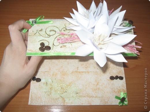 Увидела открытку у YuliaM, очень понравилась. Решила сделать несколько открыточек (как раз впереди два день рождения) и вот что получилось... фото 3