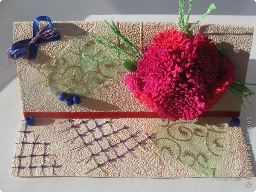 Увидела открытку у YuliaM, очень понравилась. Решила сделать несколько открыточек (как раз впереди два день рождения) и вот что получилось... фото 4