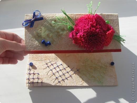 Увидела открытку у YuliaM, очень понравилась. Решила сделать несколько открыточек (как раз впереди два день рождения) и вот что получилось... фото 6