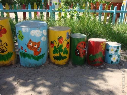 Площадка в детскому саду, группа сына. фото 2