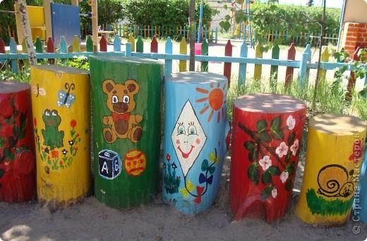 Площадка в детскому саду, группа сына. фото 1