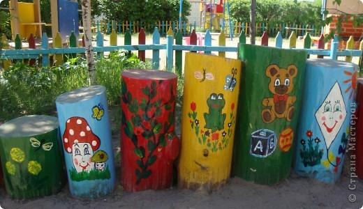 Площадка в детскому саду, группа сына. фото 3