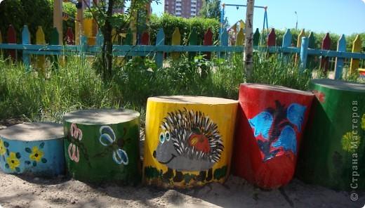 Площадка в детскому саду, группа сына. фото 4