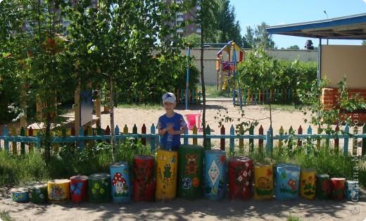 Площадка в детскому саду, группа сына. фото 5