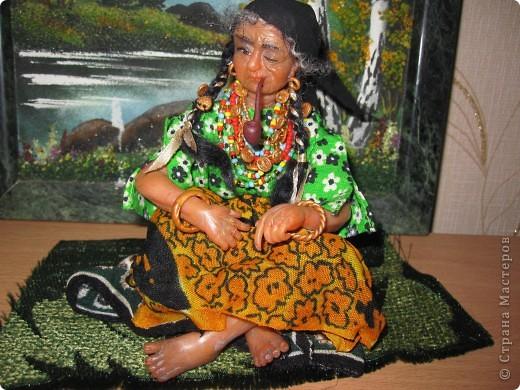 Высота куклы - 21 см,в положении сидя - 11 см фото 1