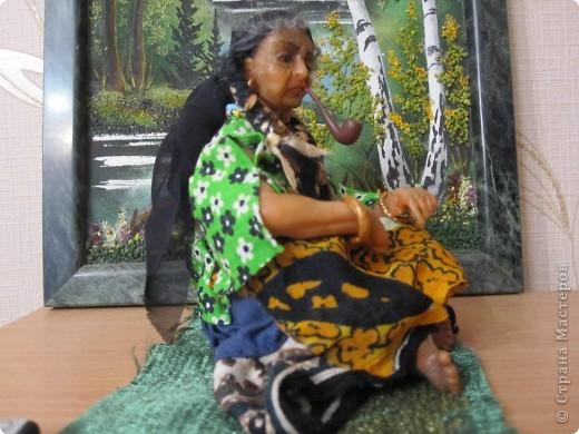 Высота куклы - 21 см,в положении сидя - 11 см фото 2