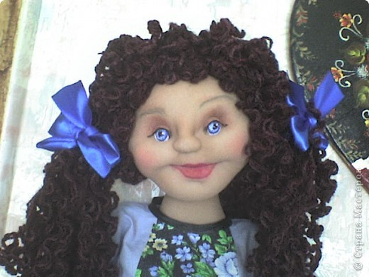 Вот родилась еще одна кукла-пакетница.  фото 3