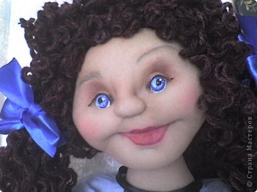 Вот родилась еще одна кукла-пакетница.  фото 1