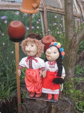 Маричка и Иванко в украинских костюмах. фото 5