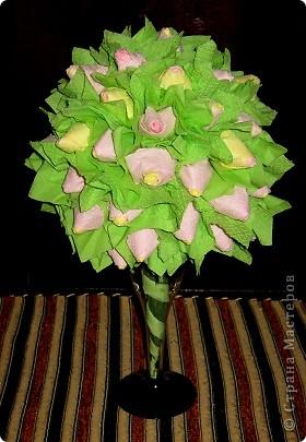 Бутоны роз в бокале фото 2