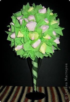 Бутоны роз в бокале фото 3