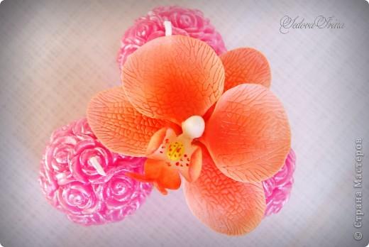 Первый опыт в лепке орхидеи. фото 2