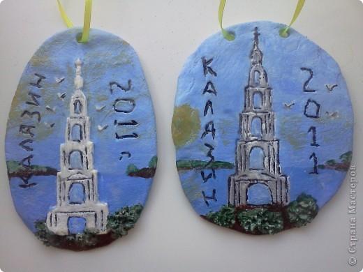 Попытка сделать сувениры с эмблемой нашего города. фото 1