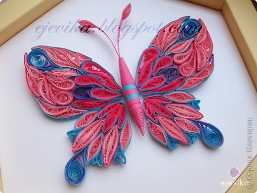 Розовая бабочка фото 2