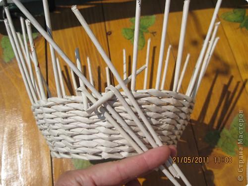 Мастер-класс Плетение Тарелочка с косичкой и МК косички от начала и до конца Бумага газетная фото 6