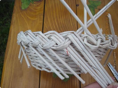 Мастер-класс Плетение Тарелочка с косичкой и МК косички от начала и до конца Бумага газетная фото 18