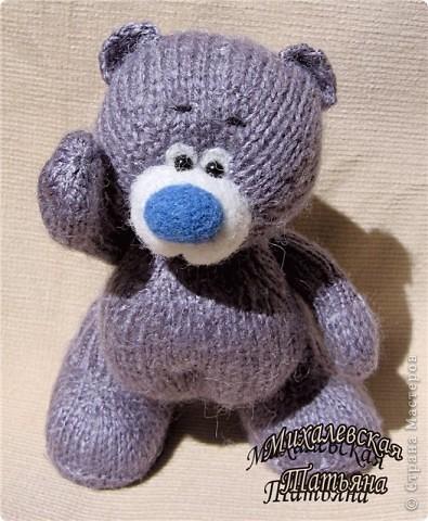 Мой новый михасик с голубым носом )))))))))))))   фото 2