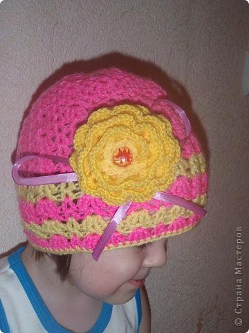 Весенние шапочки фото 2