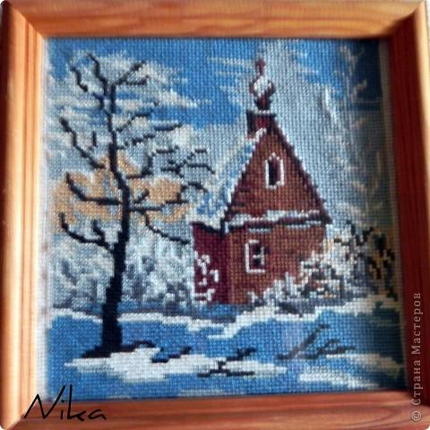 Зимний домик...
