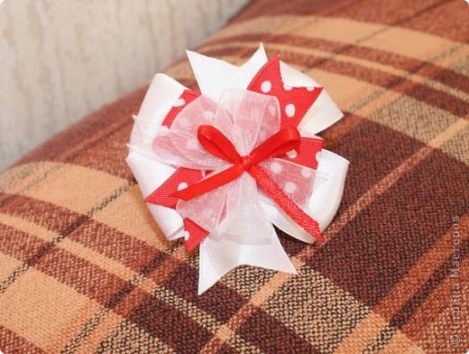 Продолжаю практиковаться в шитье бантиков. Подарок для двоюродной племянницы. фото 3