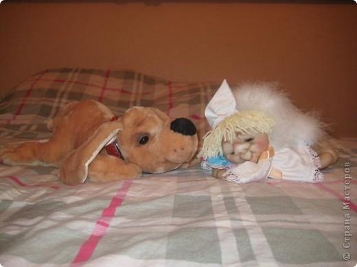 Вот такой песик пошился по выкройке собачки Сонечки, подаренной Стране Мастеров Вдохновленной. фото 5