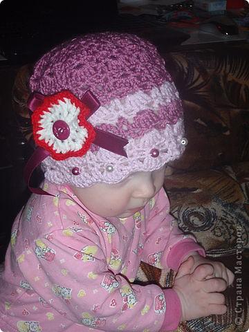 Весенние шапочки фото 5