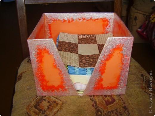 Коробочка для салфеток