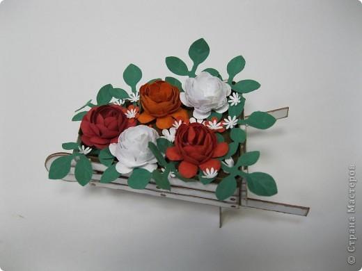 Цветы сделала сама из бумаги для пастели фото 3
