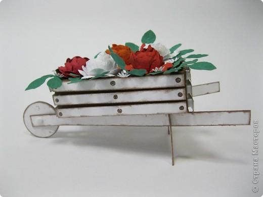 Цветы сделала сама из бумаги для пастели фото 4