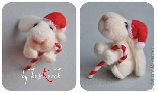 заказ на 10 ушастых был сделан к новому году - году кролика!) материал - шерсть, пластика, пастель высота - 5-6 см фото 10