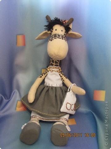 Новая жирафа - брюнетка)) фото 1